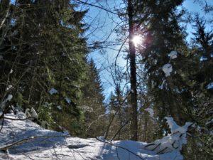 Snowshoeing in Svaneti
